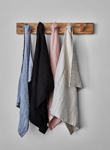 multiple colours tea towels