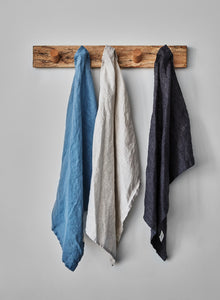 multiple colours linen tea towels