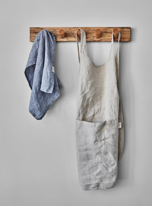 Lavender tea towel and oat apron