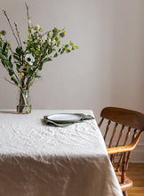Load image into Gallery viewer, Linen Tablecloth - Oatmeal