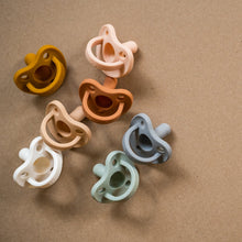 Load image into Gallery viewer, Minika silicone pacifiers, all colours