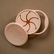 Load image into Gallery viewer, minika blush colour silicone snack cup