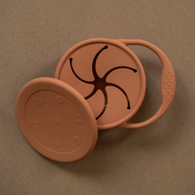 Load image into Gallery viewer, minika ginger coloured silicone snack cup