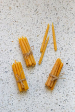 Load image into Gallery viewer, bundles of beeswax birthday candles