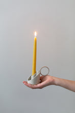 Load image into Gallery viewer, Candle Holder - cream