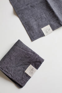 Ensemble de lingettes - Anthracite