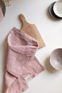 Linen Napkins - Dusty rose
