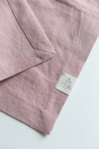 Linen Tablecloth - Pink