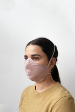 Load image into Gallery viewer, Linen Face Masks - Dusty Pink