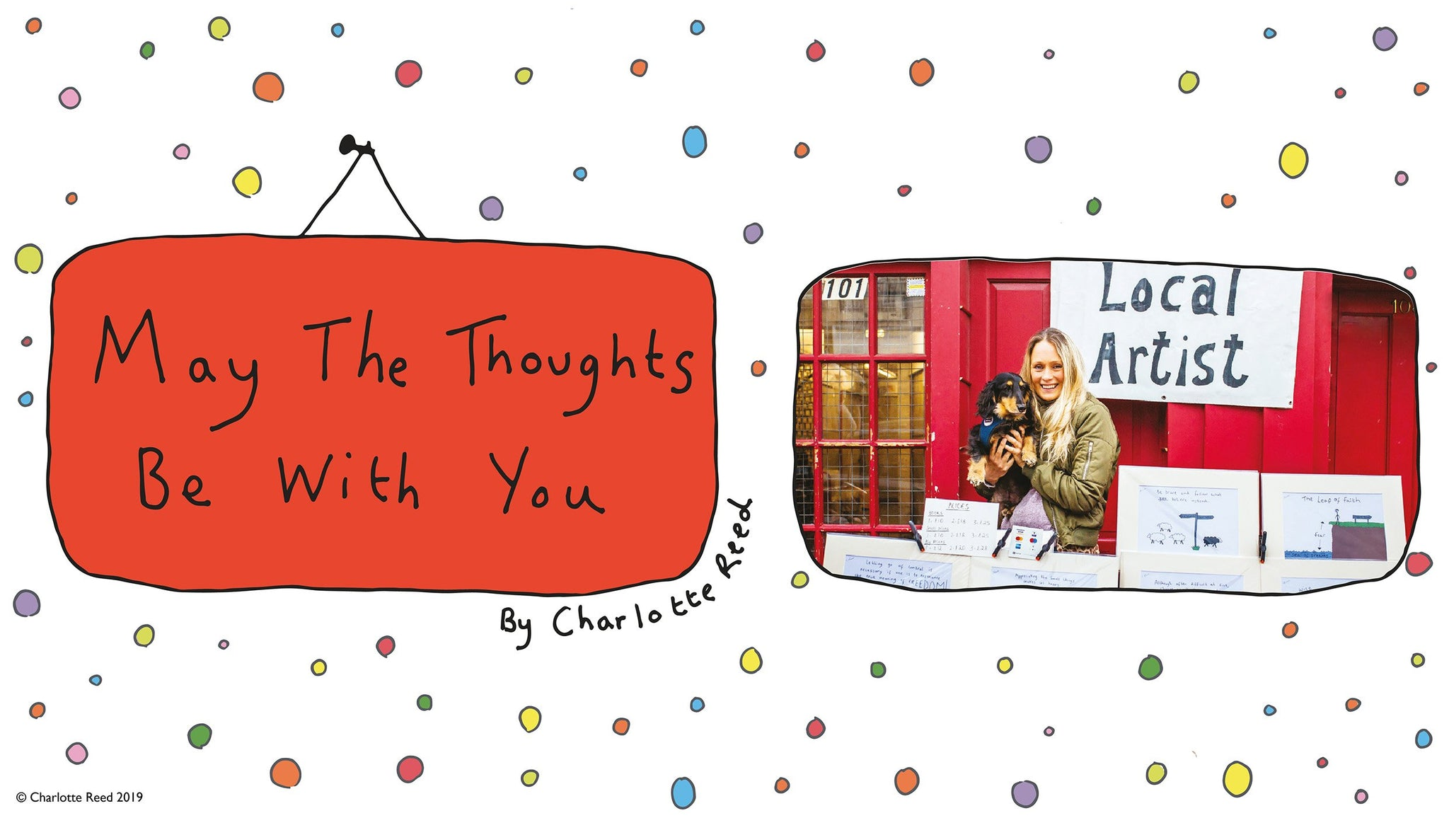 Half Moon Bay talk to Charlotte Reed – The inspiring mind behind May the Thoughts be With You