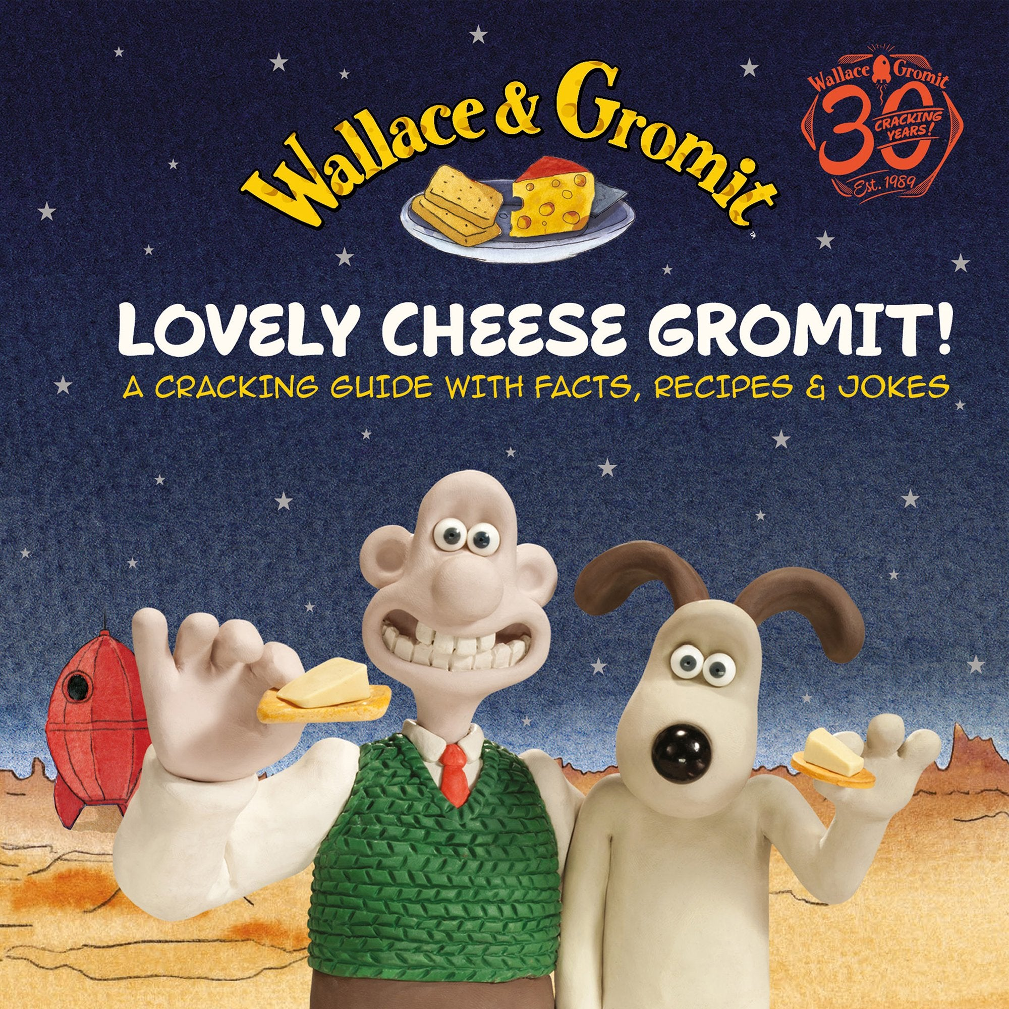 Wallace & Gromit Giftbook - Lovely Cheese Gromit - Half Moon Bay US