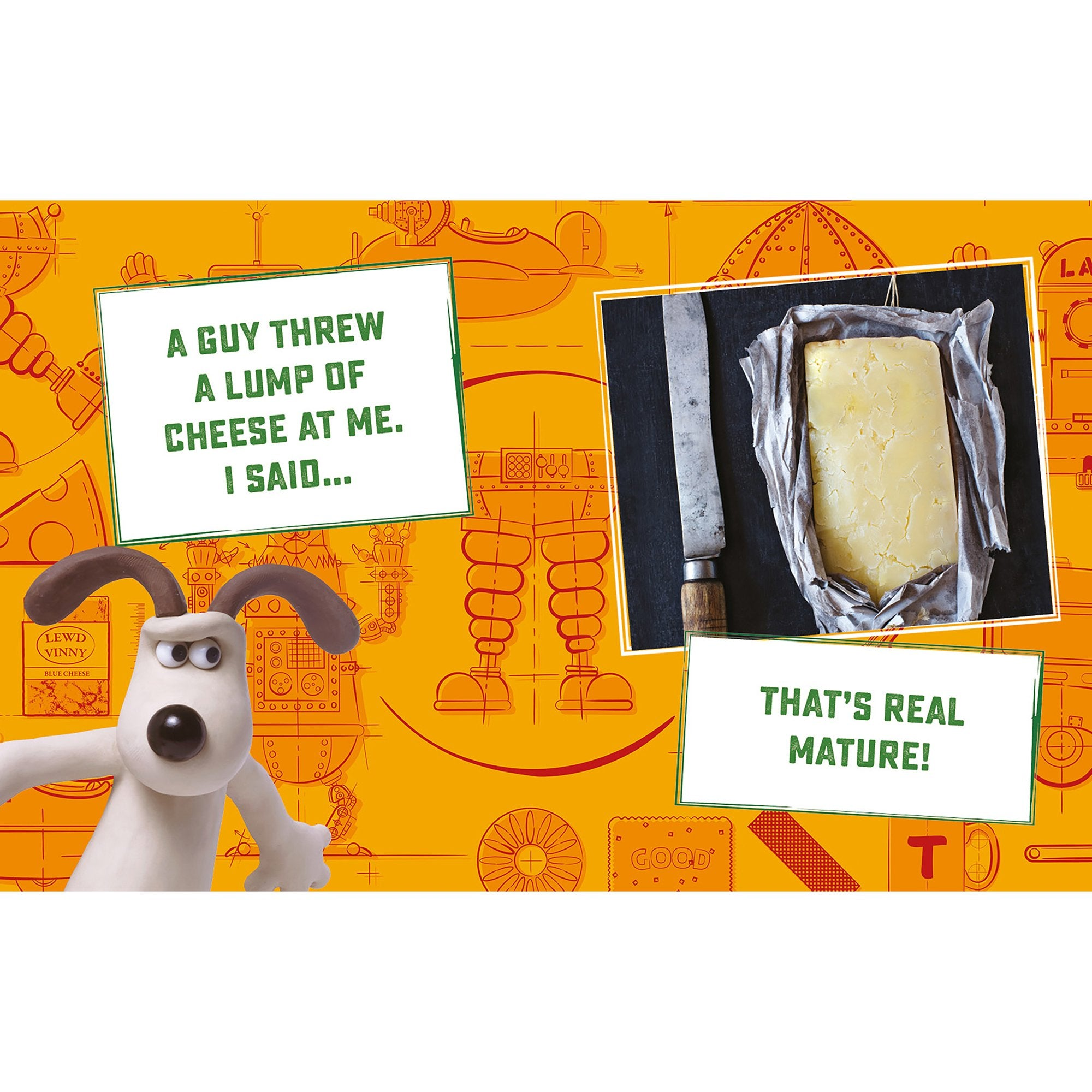 Wallace & Gromit: Little Book of Cheese - Half Moon Bay US