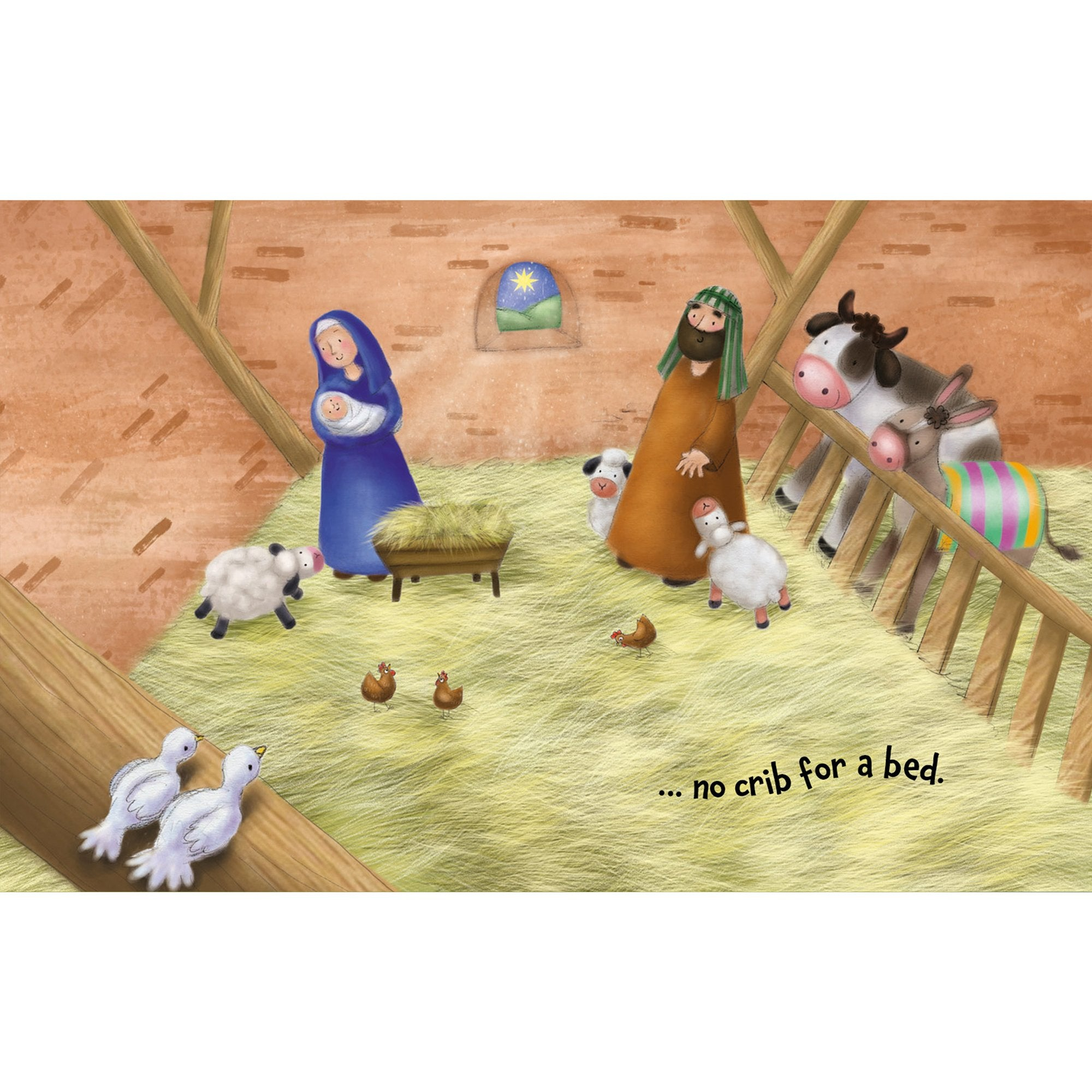Christmas Giftbook - Away In A Manger - Half Moon Bay US