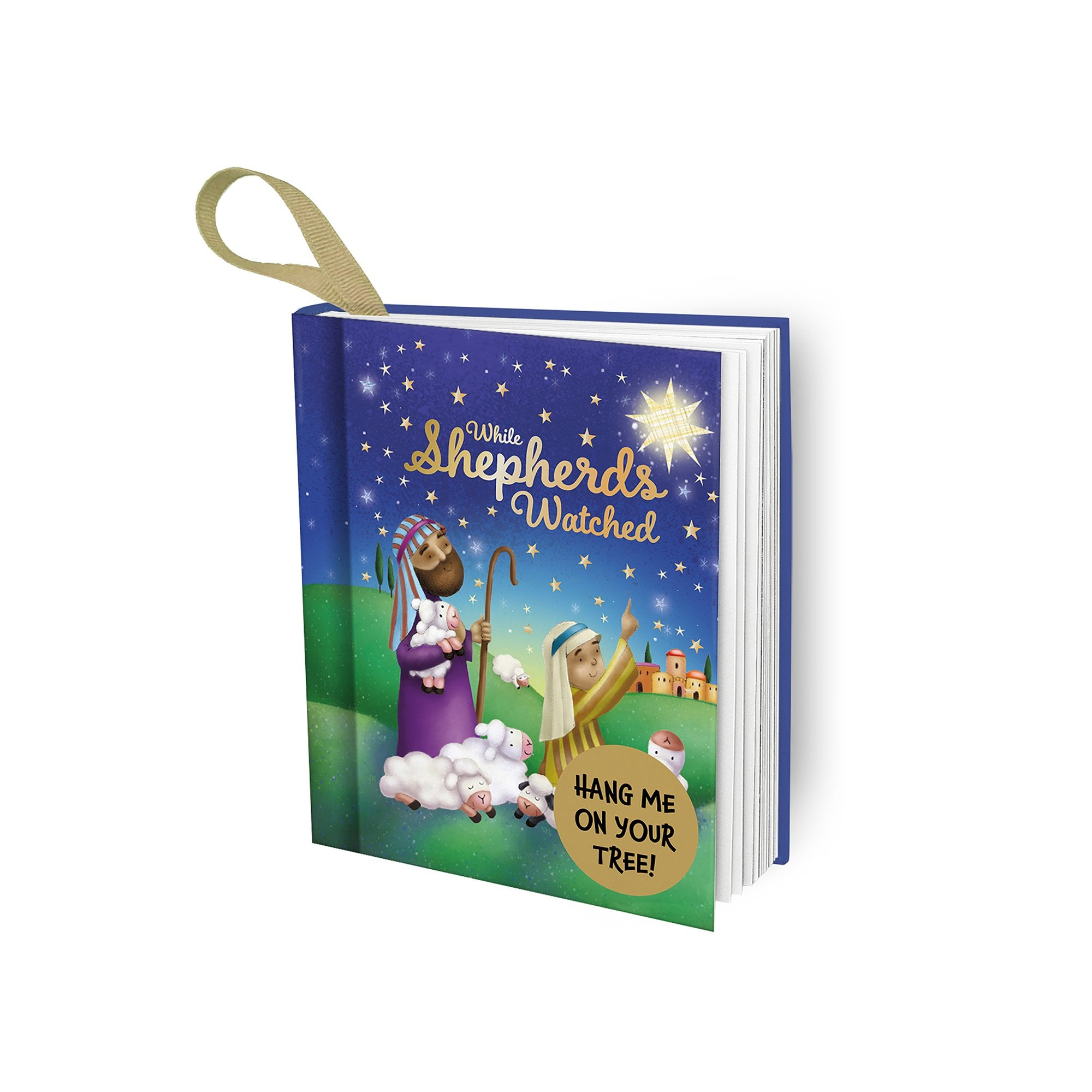 Christmas Giftbook - While Shepherd's Watched - Half Moon Bay US