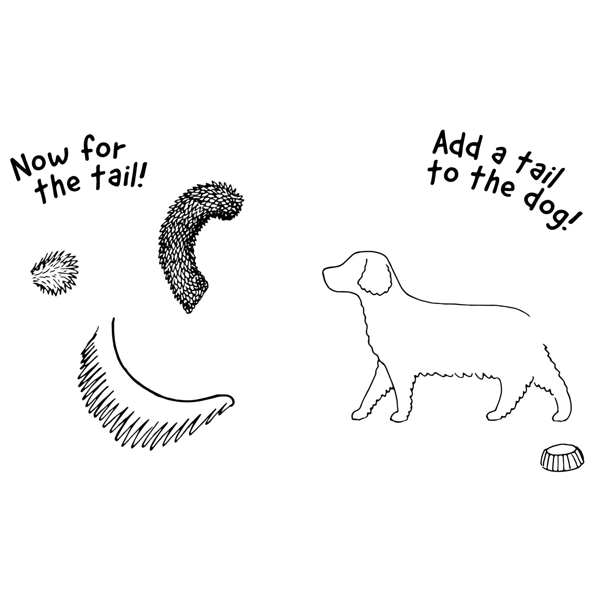 Off the Leash: Doodle Your Doggy Mini Book - Half Moon Bay US