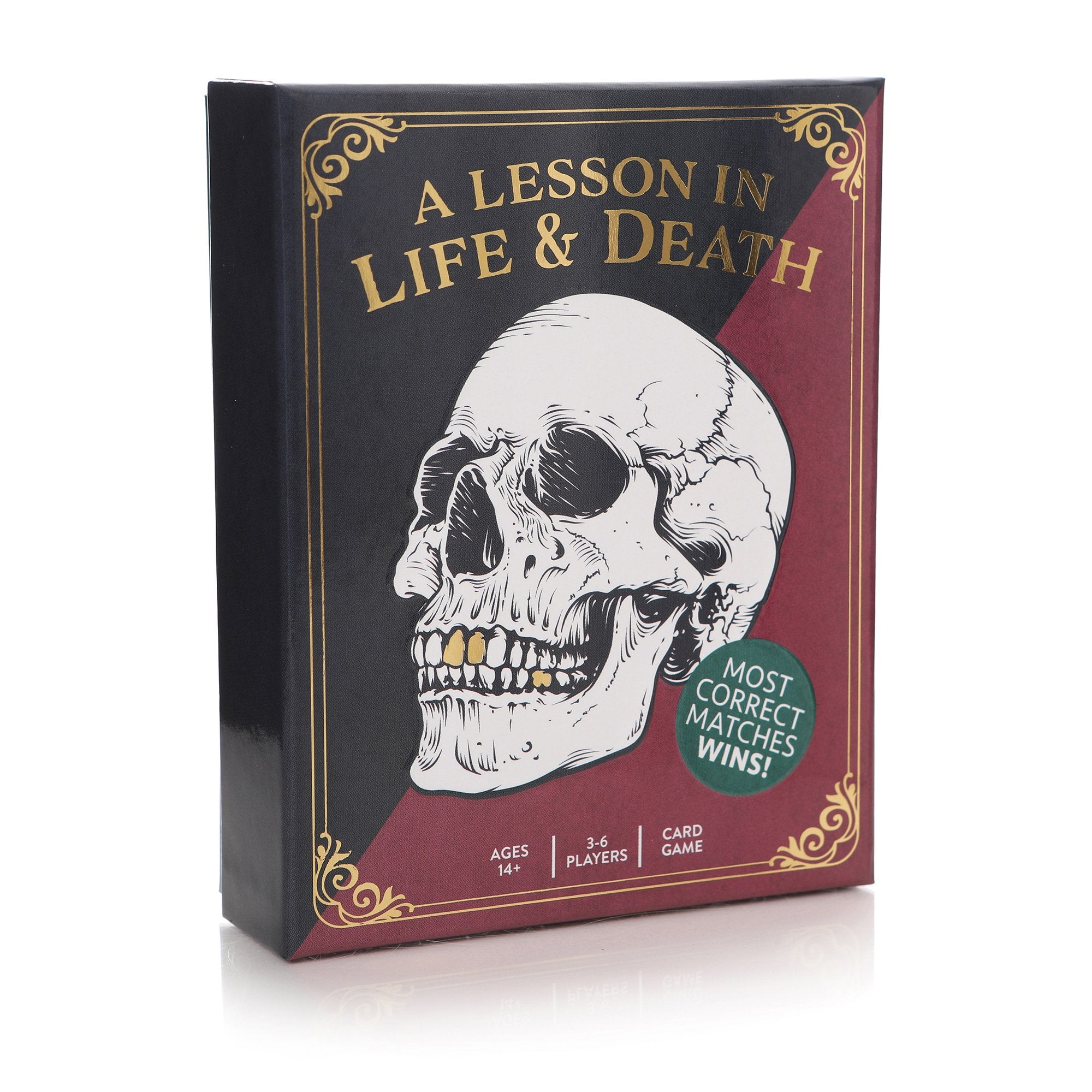A Lesson In Life & Death Card Game - Half Moon Bay US