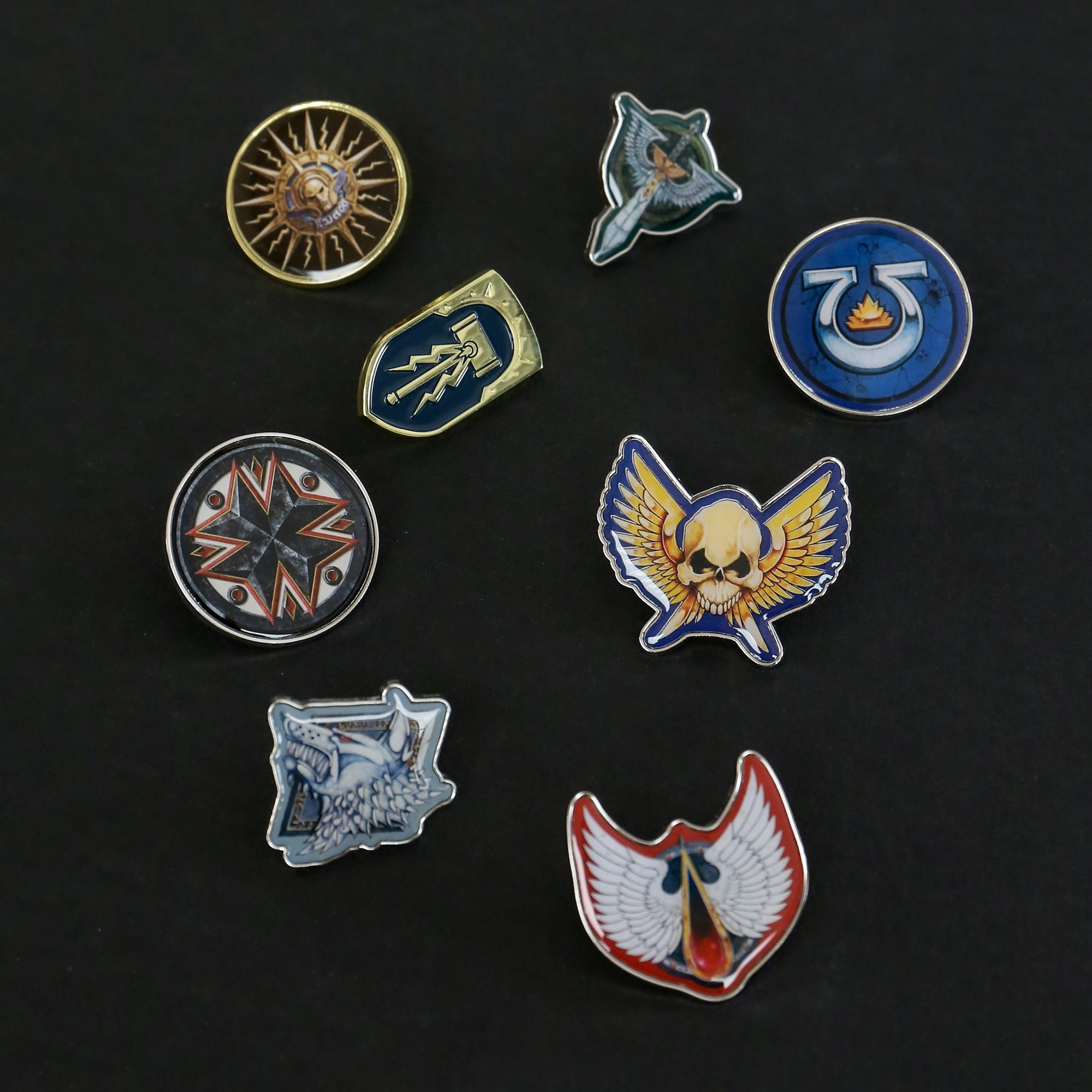 Warhammer Ultimate Pin Badge Bundle