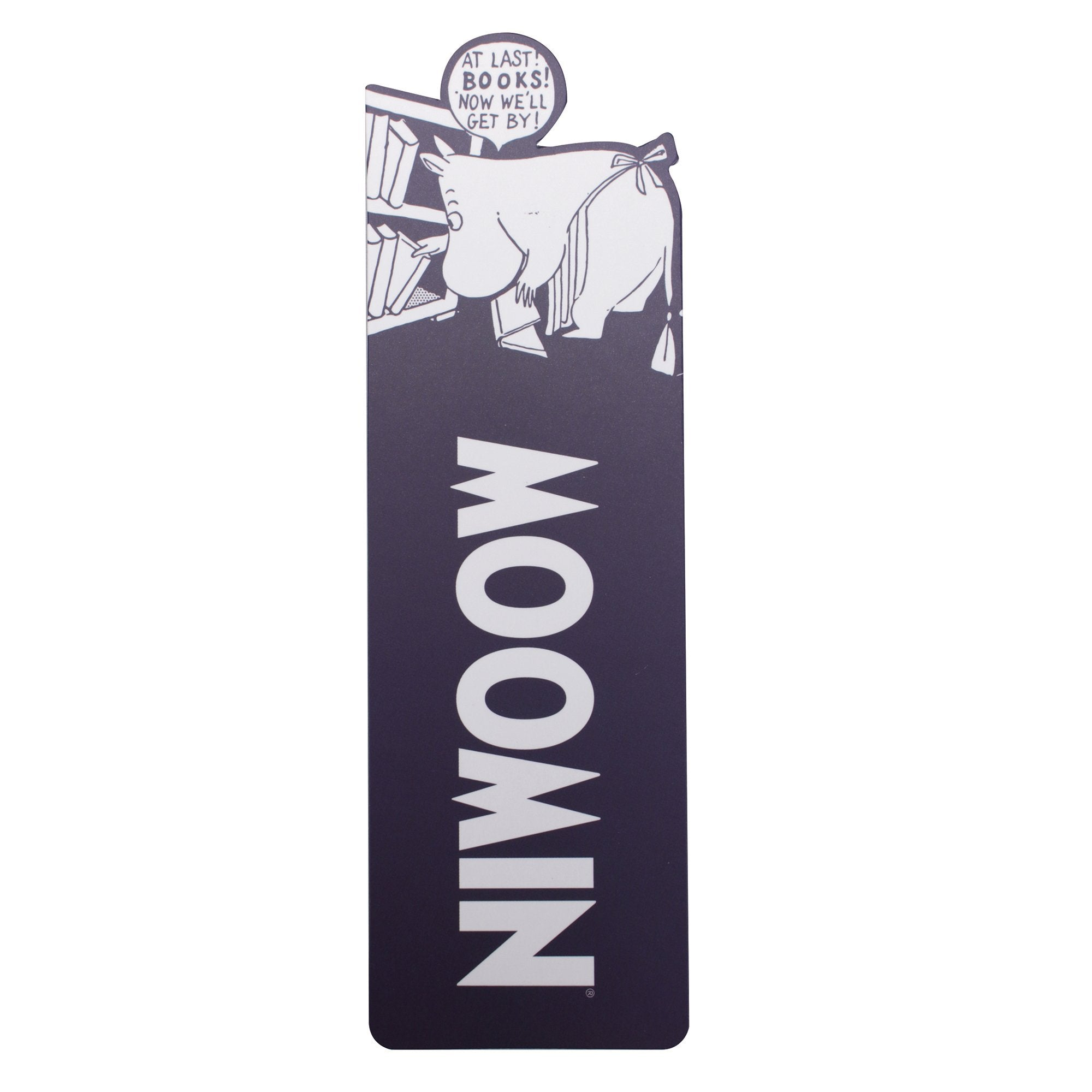 Moomin Bookmark - At Last! Books! - Half Moon Bay US