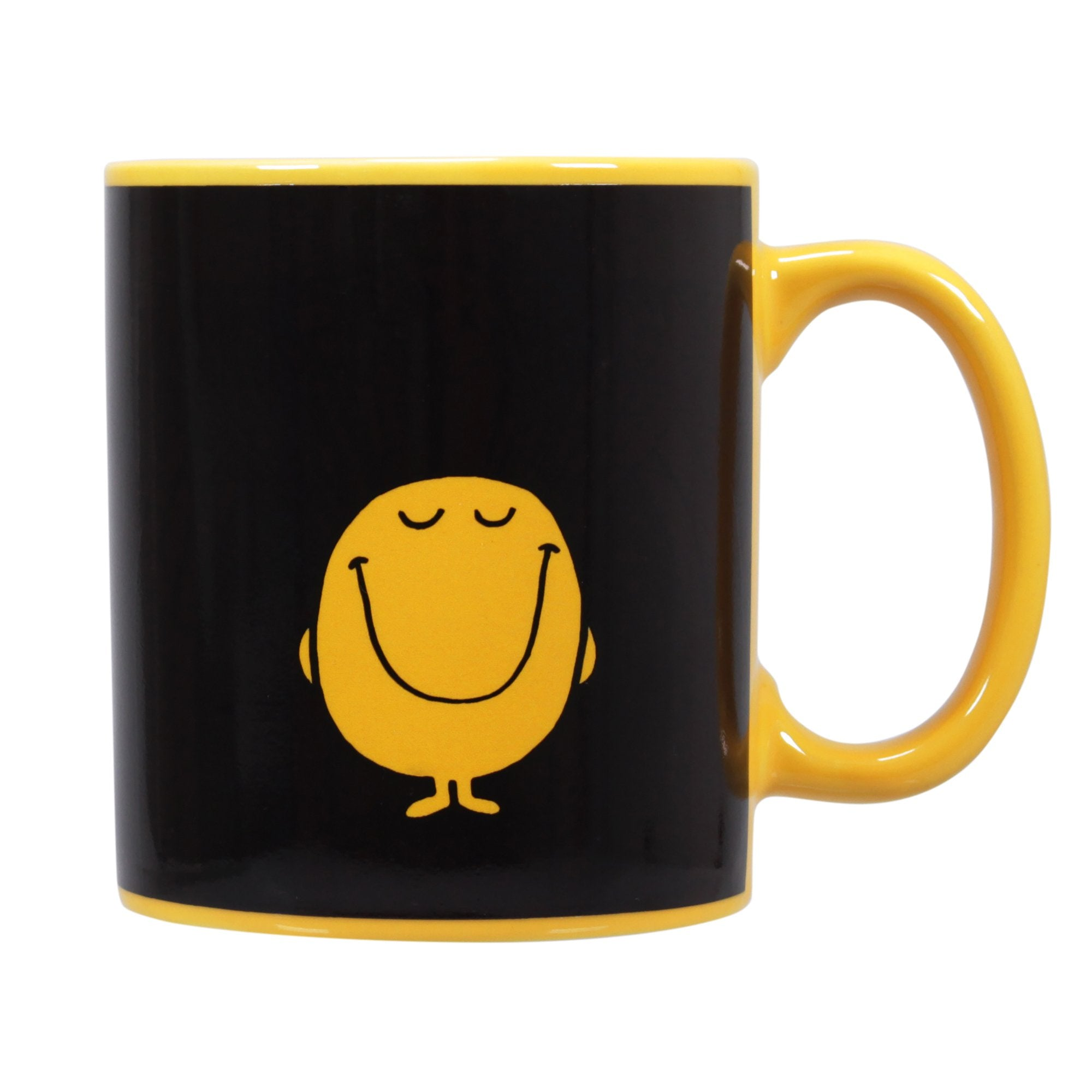 Mr. Men Little Miss Heat Changing Mug - Mr. Happy - Half Moon Bay US