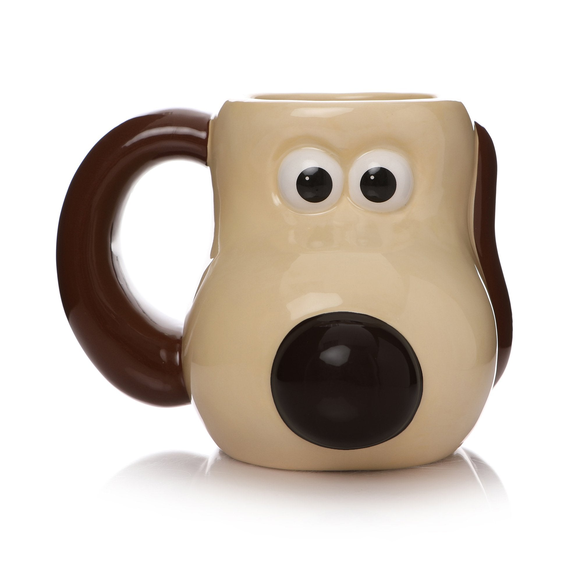 Aardman Wallace and Gromit Shaped Mug - Gromit - Half Moon Bay US