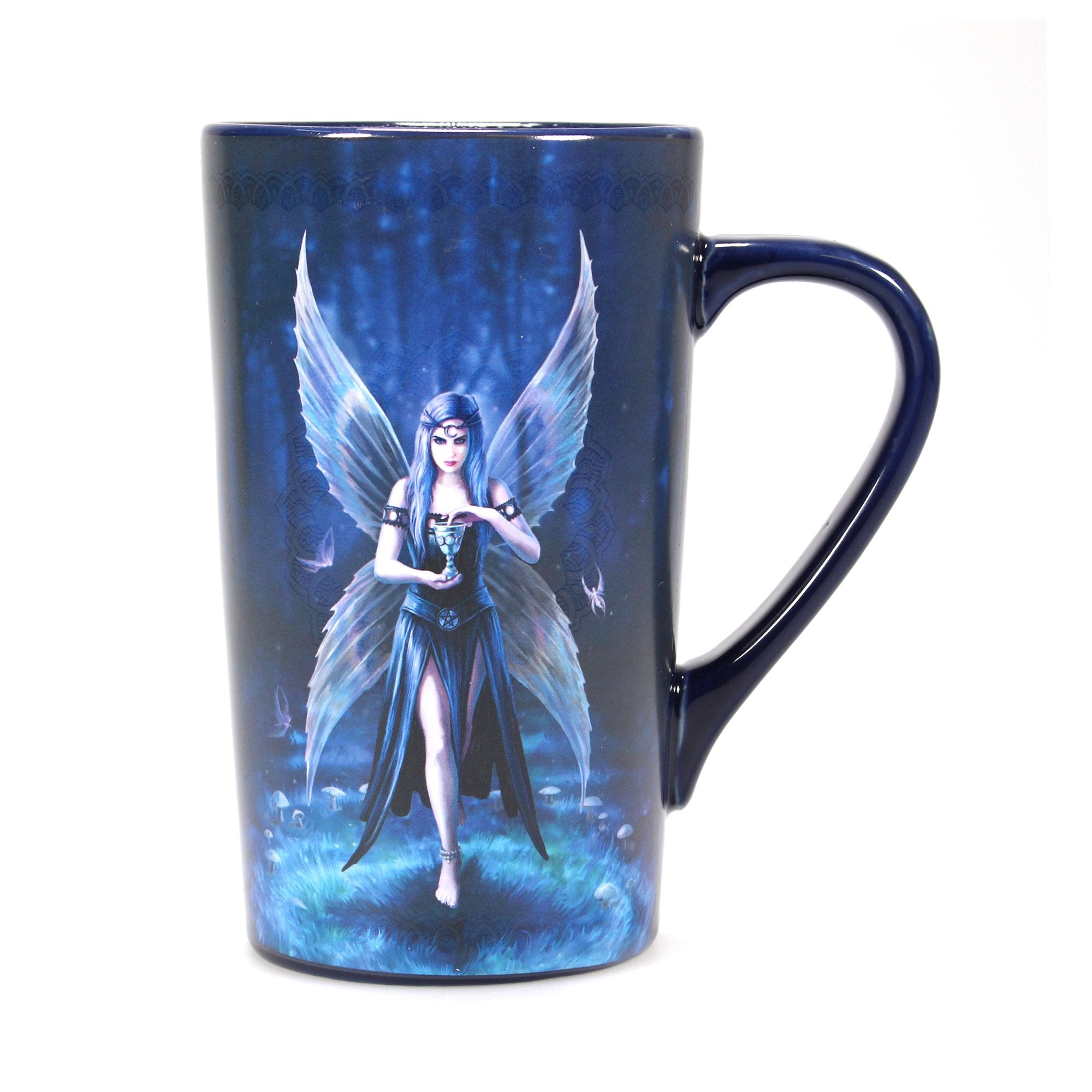 Anne Stokes Heat Changing Latte Mugs - Enchantment - Half Moon Bay US