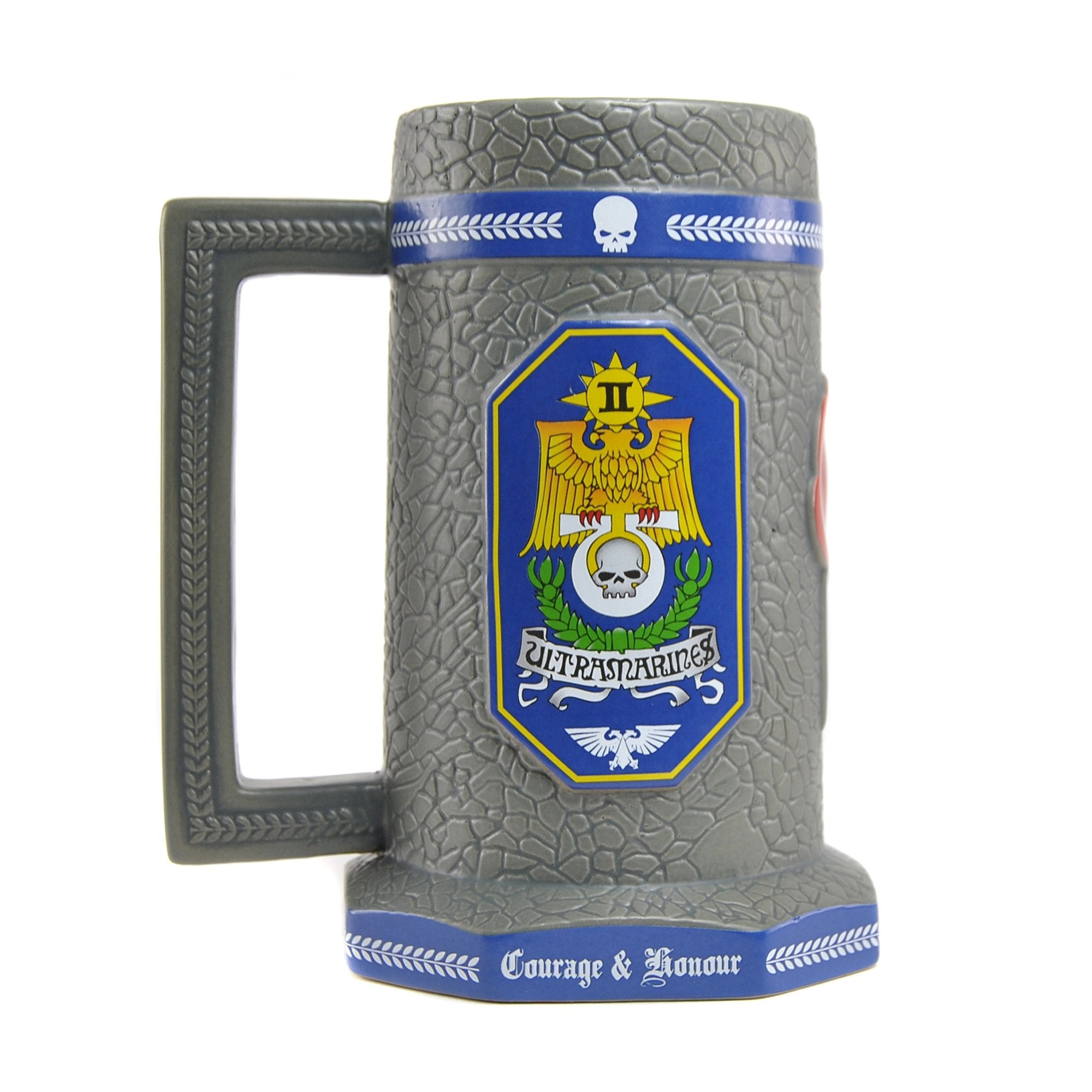 Warhammer 40,000 Stein Mug - Ultramarines - Half Moon Bay US