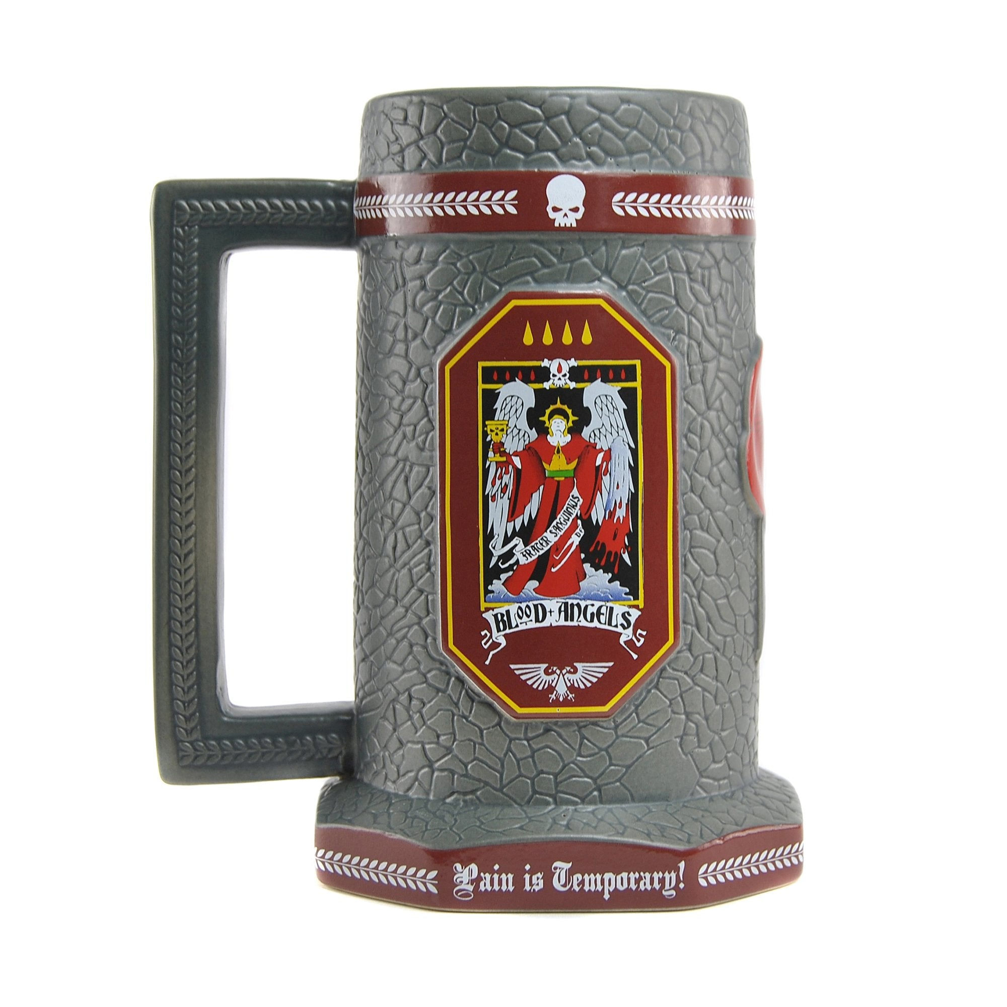 Warhammer 40,000 Stein Mug - Blood Angels - Half Moon Bay US