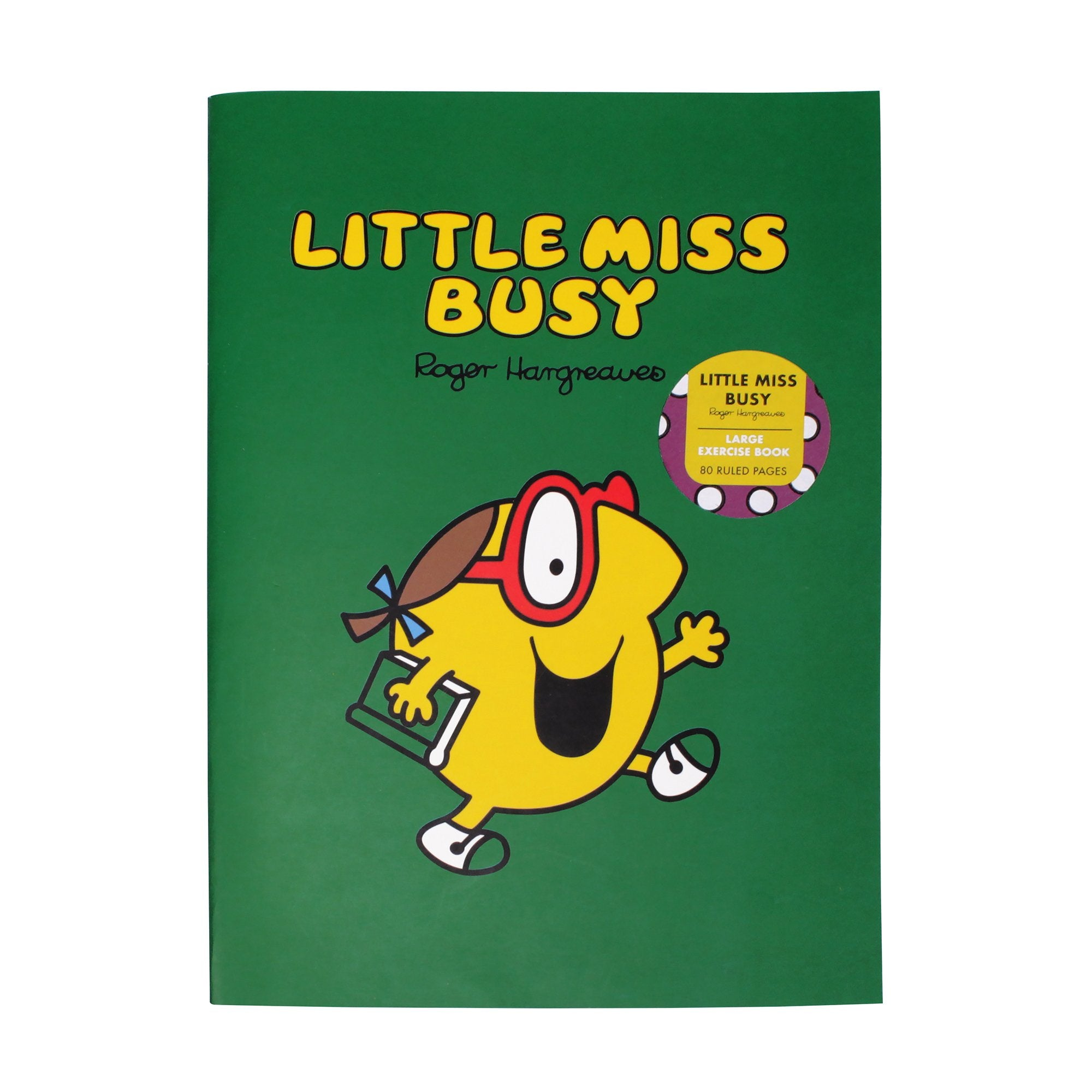 Mr. Men Little Miss Exercise Book - Little Miss Busy - Half Moon Bay US