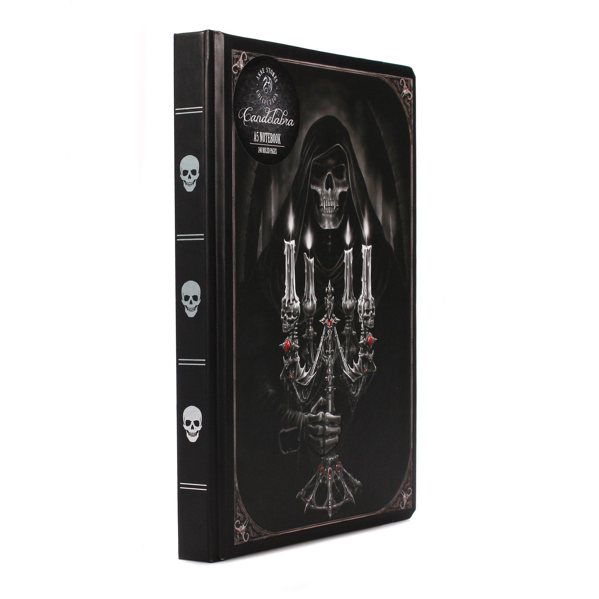 Anne Stokes A5 Notebook - Candelabra - Half Moon Bay US