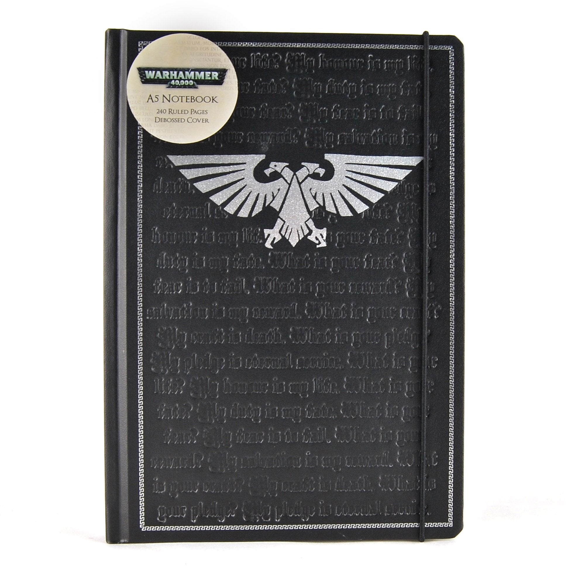 Warhammer 40,000 A5 Notebook - Pledge - Half Moon Bay US