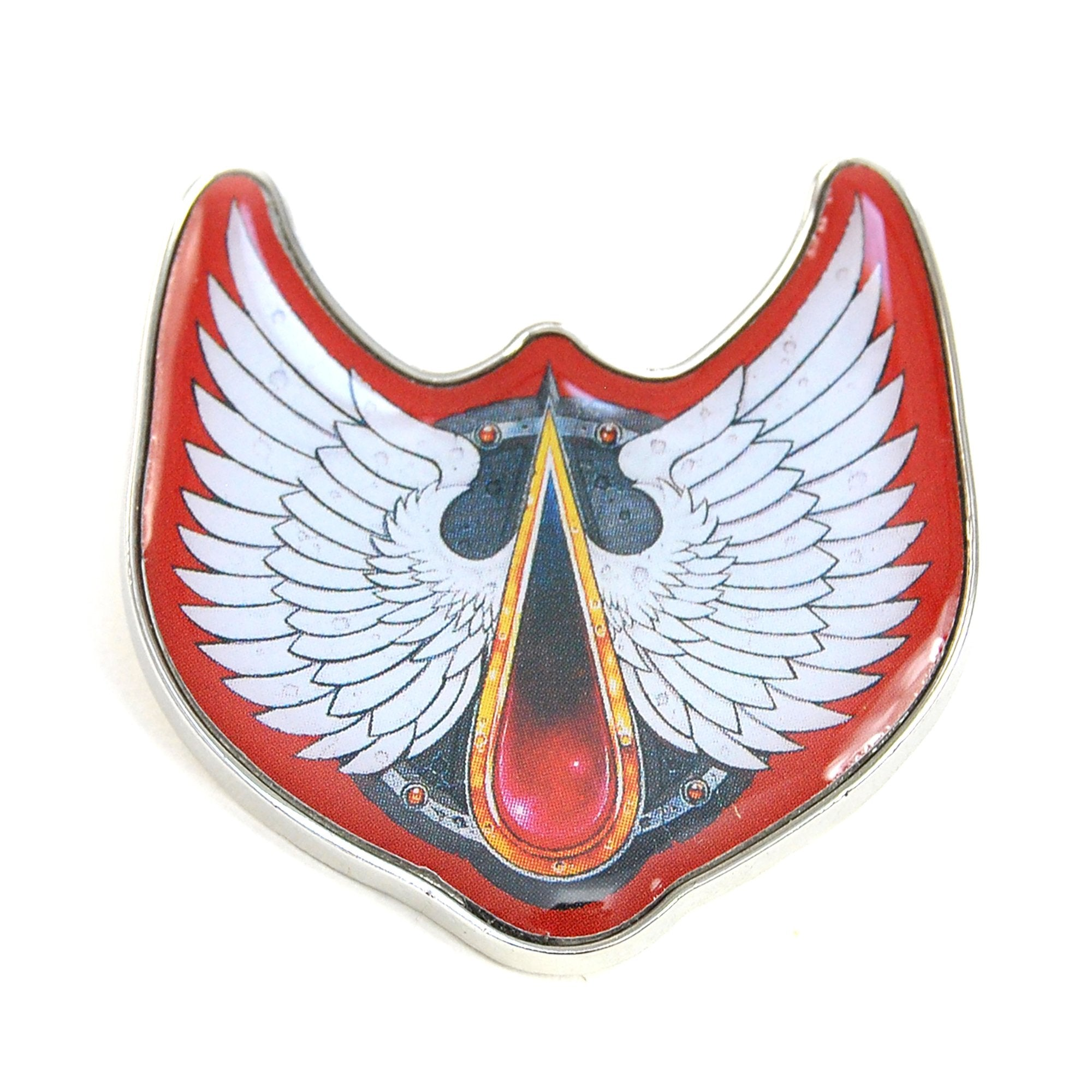 Warhammer 40,000 Pin Badge - Blood Angels - Half Moon Bay US