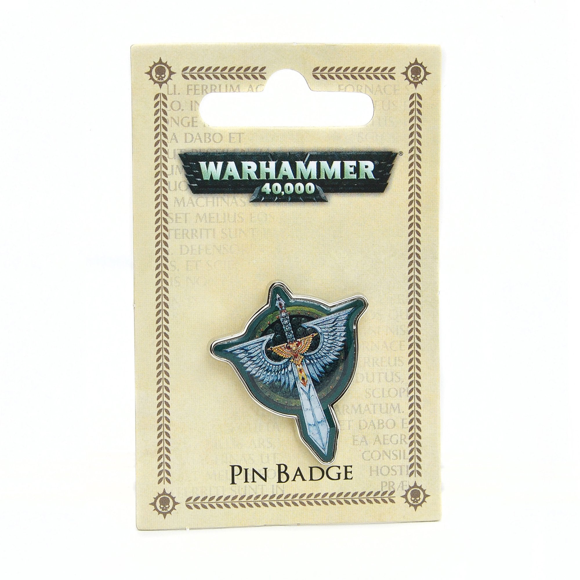 Warhammer 40,000 Pin Badge - Dark Angels - Half Moon Bay US