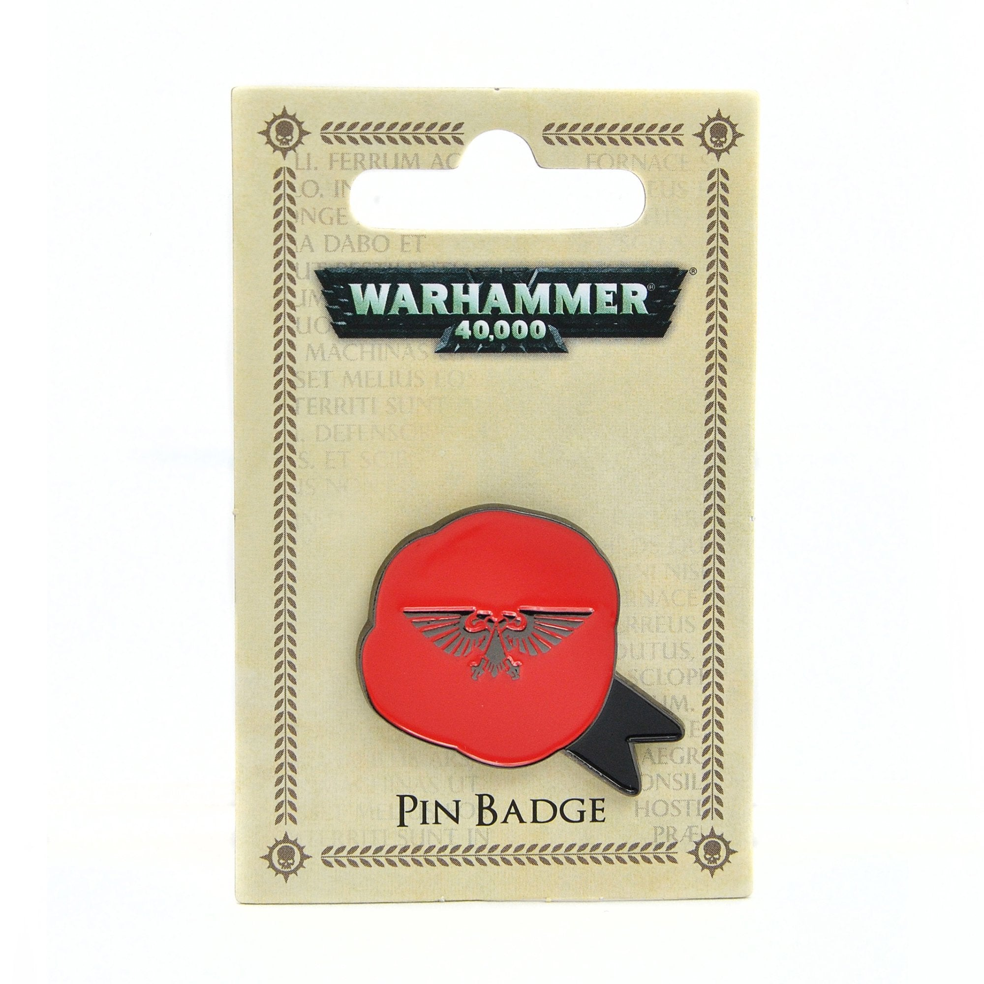 Warhammer 40,000 Pin Badge - Purity Seal - Half Moon Bay US