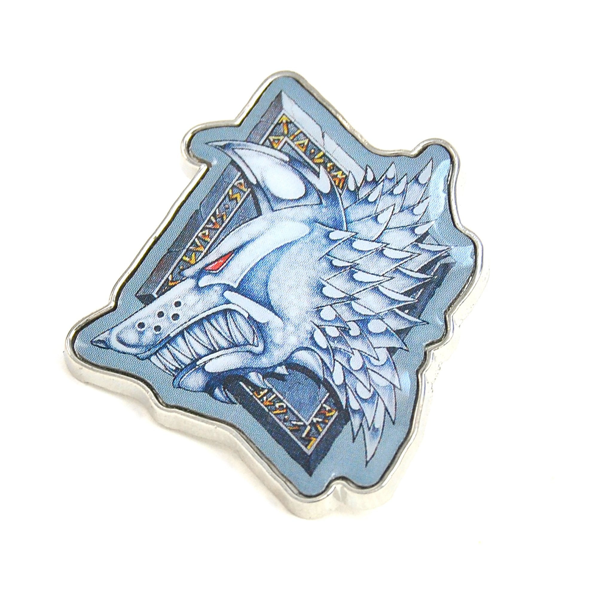 Warhammer 40,000 Pin Badge - Space Wolves - Half Moon Bay US