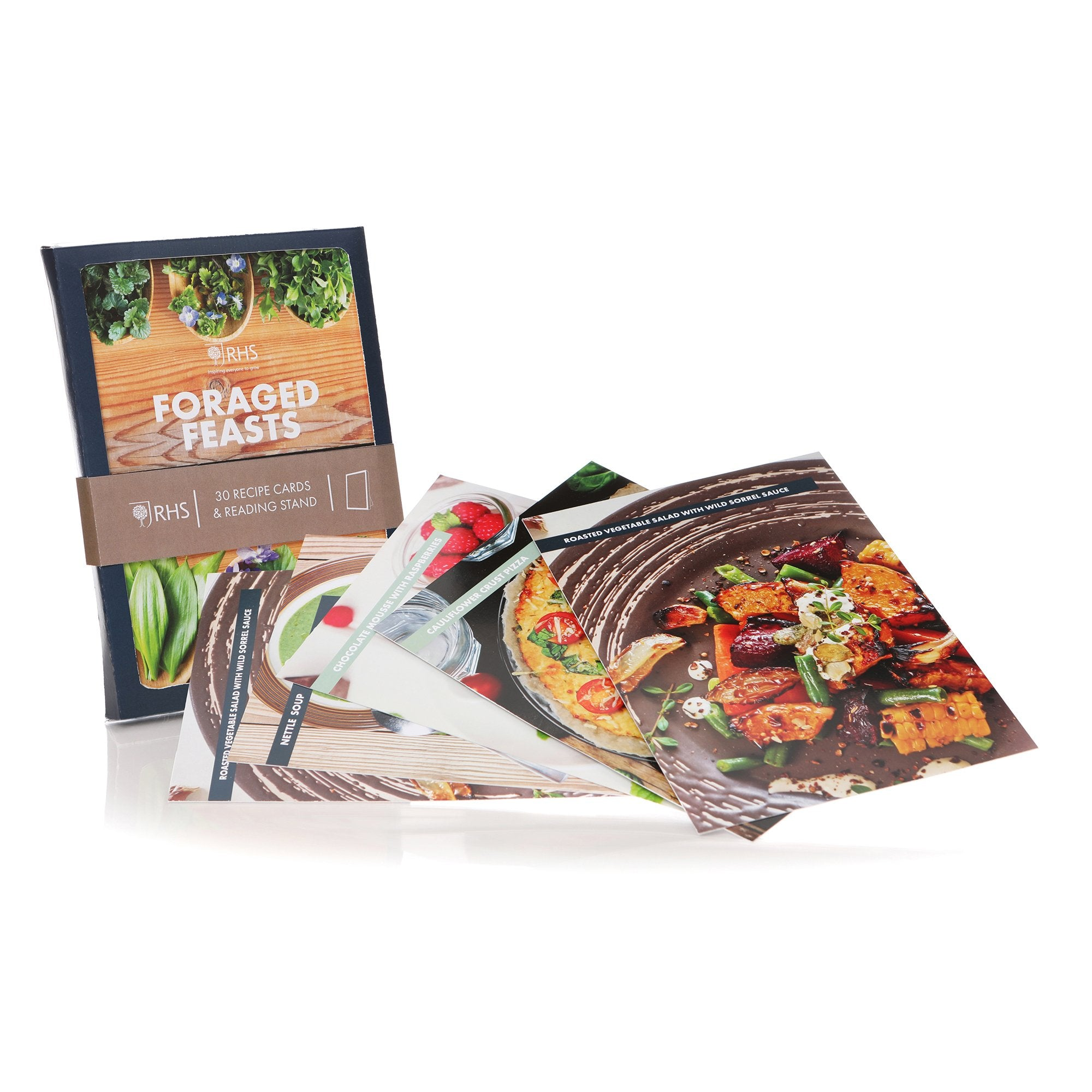 RHS Recipe Cards Box - Foraged Feasts - Half Moon Bay US
