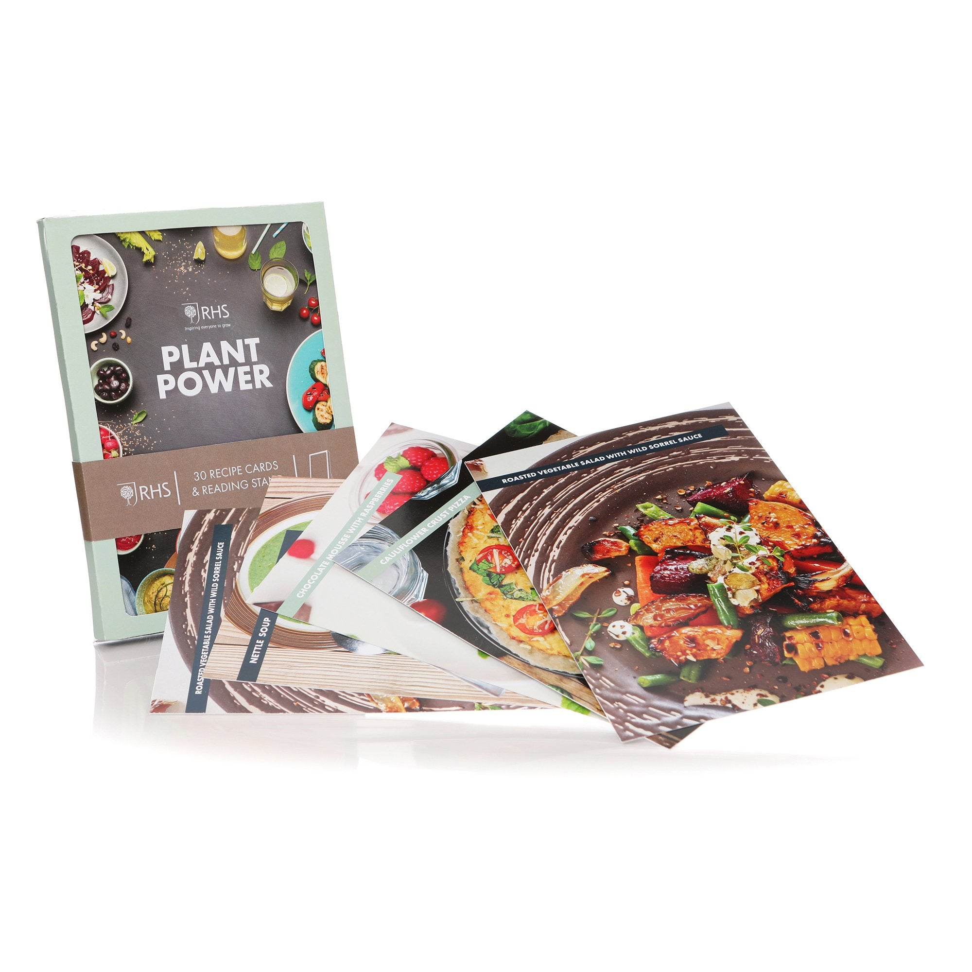 RHS Recipe Cards Box - Plant Power - Half Moon Bay US