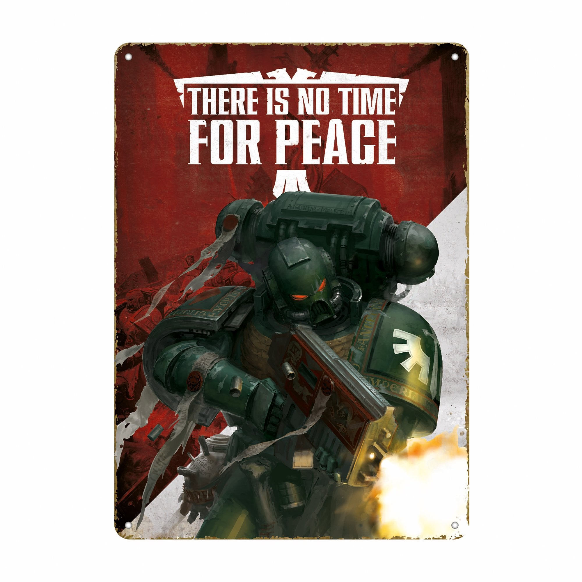 Warhammer 40,000 Tin Sign - Propaganda - Half Moon Bay US