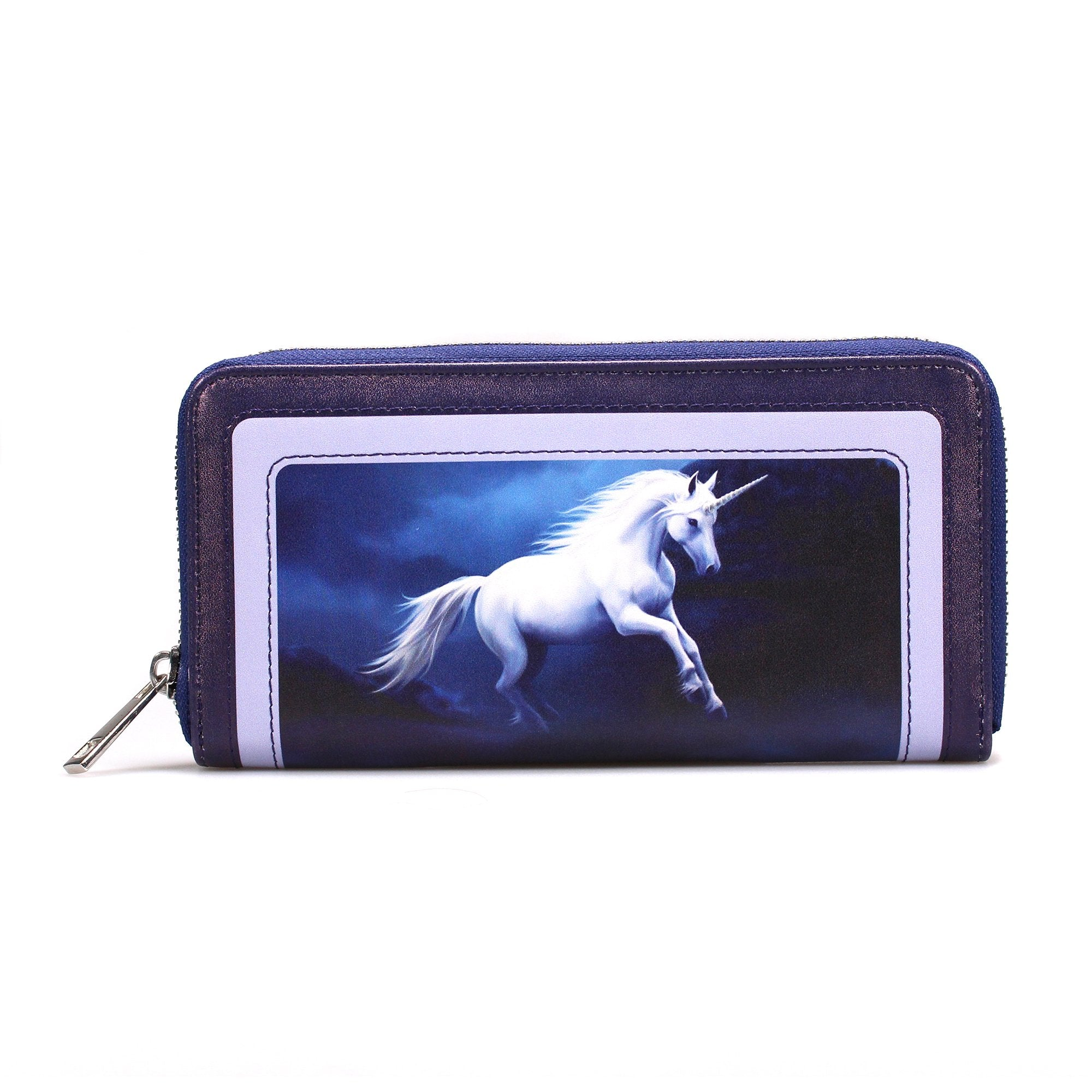 Anne Stokes Purse - Moonlight Unicorn - Half Moon Bay US