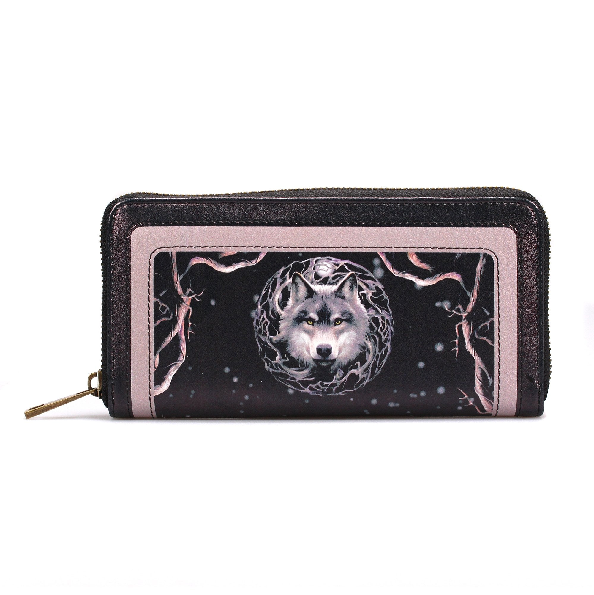 Anne Stokes Purse - Night Forest Wolf - Half Moon Bay US