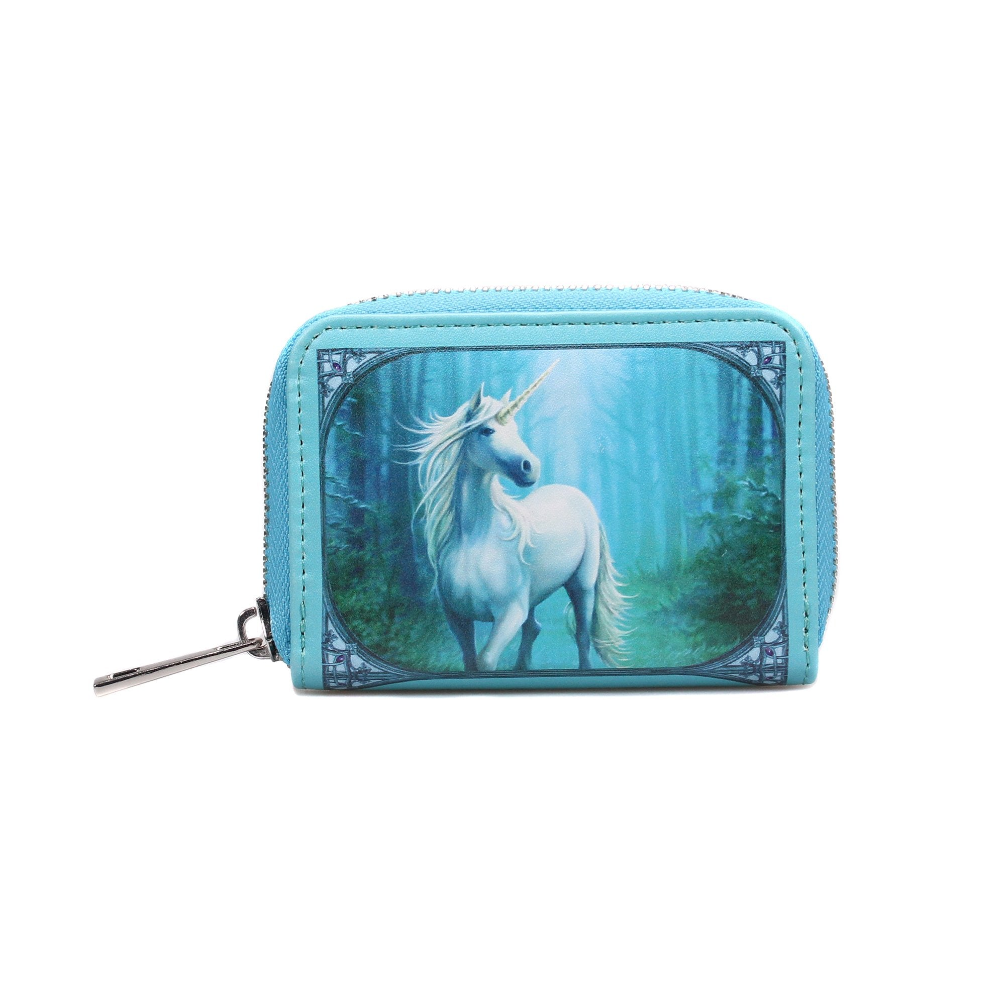 Anne Stokes Coin Purse - Forest Unicorn - Half Moon Bay US