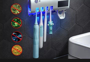 TOOTHBRUSH HOLDER WITH STERILIZER
