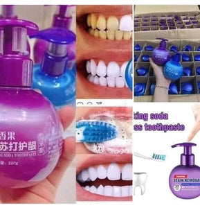 (BUY 1 TAKE 1 FREE) INTENSIVE STAIN REMOVAL WHITENING TOOTHPASTE