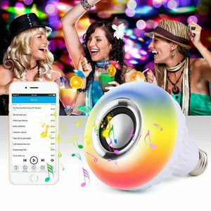 SMART LIGHT BULB WIRELESS BLUETOOTH SPEAKER
