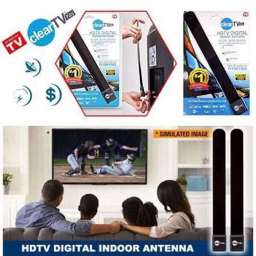 (BUY 1 TAKE 1) HDTV FREE TV Digital Indoor Antenna