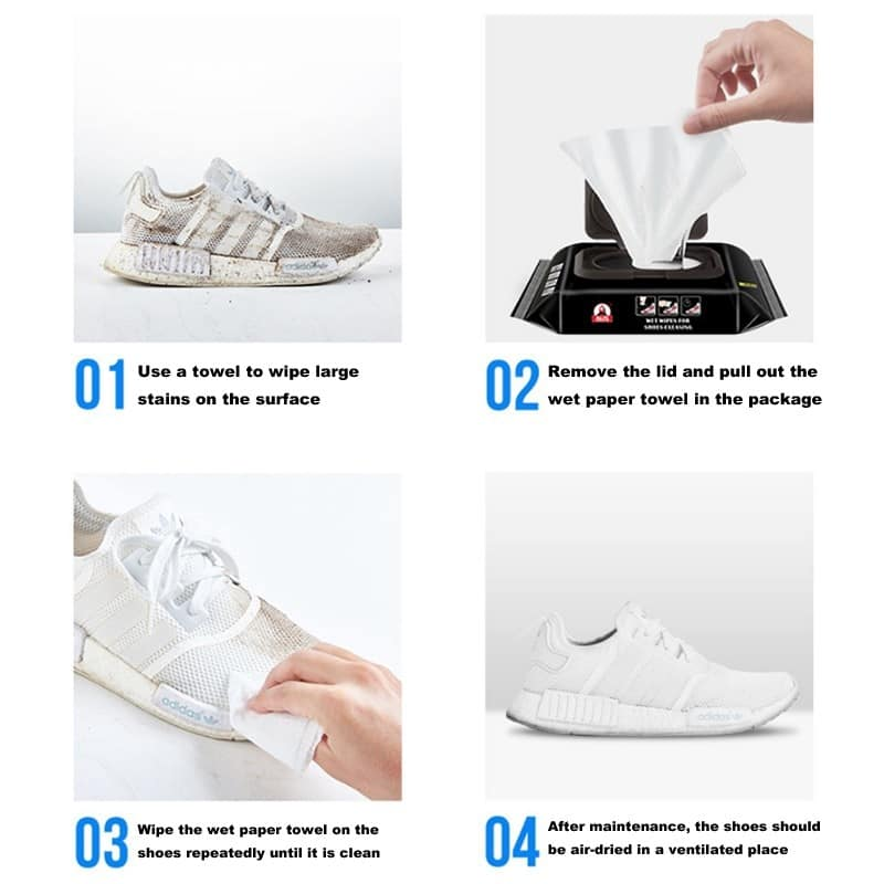 Quick Wipes Shoes Artifact Cleaning Buy 1 Get 1 Free