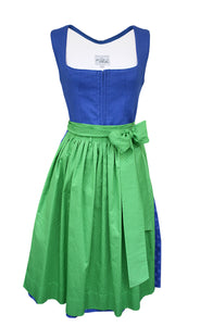Dirndl Trieste Electric Blue