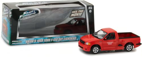 Fast & Furious 2001 Brian's Ford F-150 SVT Lighting Greenlight 1:43 Scale