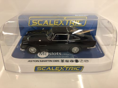 Scalextric C4029 Aston Martin DB5 Black New Boxed 1:32 Scale