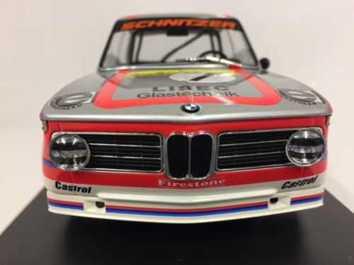 Minichamps 155742601 BMW 2002 Ti Rar Team Leru Stepp Manhalter 1:18 Scale