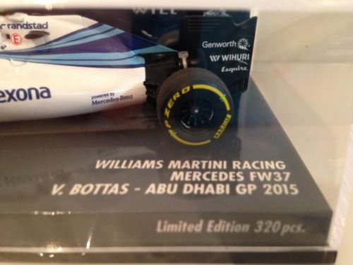Minichamps 417150177 Williams FW37 V Bottas Abu Dhabi 15 Martini